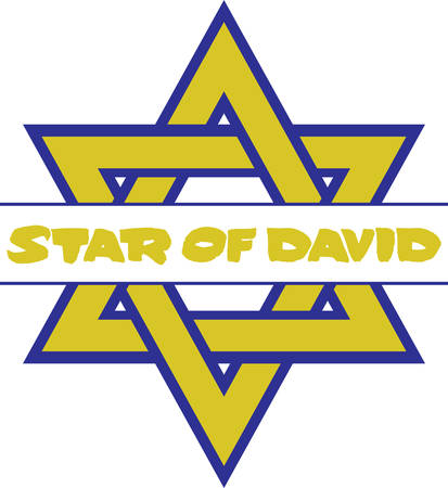 jews: Bring Beautiful Light to Hanukkah With A Stunning New Star of David Illustration