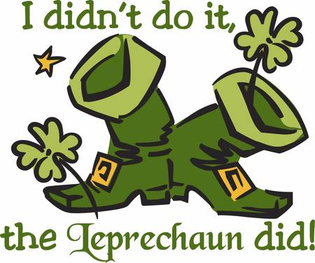 The mythological creature that best represents me is a leprechaun.
