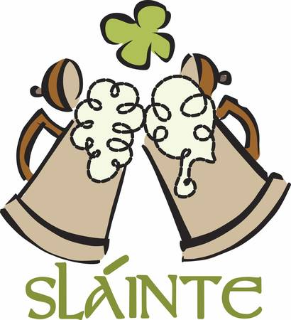 st  paddy's day: Always keep that happy attitude. Pretend that you are holding a beautiful fragrant bouquet. Illustration