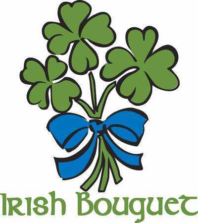 paddys: Always keep that happy attitude. Pretend that you are holding a beautiful fragrant bouquet. Illustration