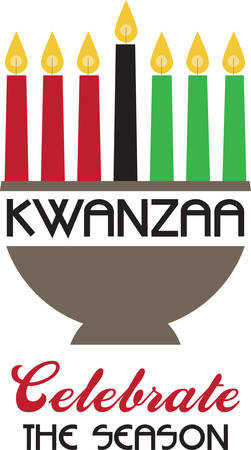Kwanzaa is a panAfrican celebration of heritage and culture and family and community.