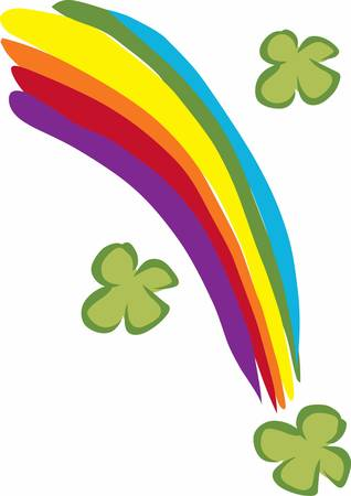 saint paddy's: May your journey through life be vibrant and full of colorful rainbows.