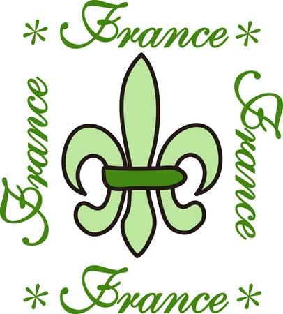 spawn: This classic fleur de lis is such a lovely decoration.  This French flower is perfect for any project.