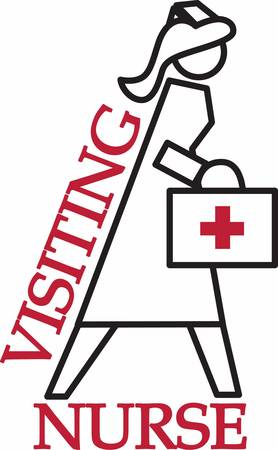 registered nurse: A person who is training to be a nurse at a nursing school or hospital. Pick those designs by concord! Illustration