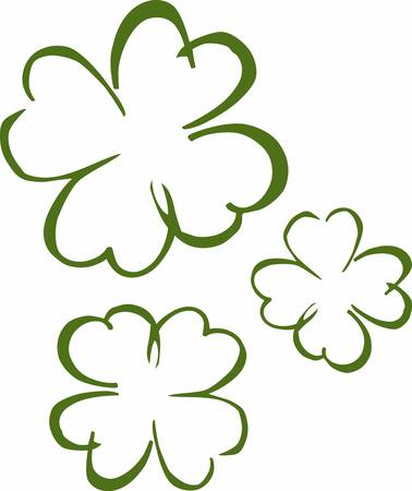 For each petal on the shamrock this brings a wish your way. Good health good luck and happiness for today and every day.
