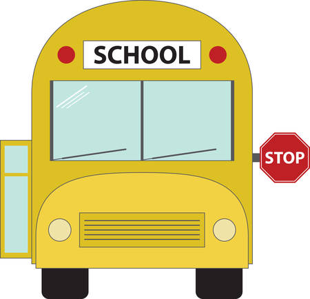 specifically: School Bus specifically designed and manufactured for student transport carrying students to and from school and school events