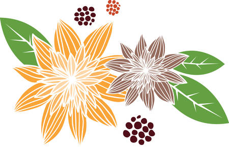 Plant and grow your own beautiful Flower Plants from concord designs Ilustração