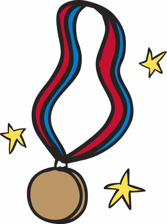 signifies: A Gold medal signifies that you are the best for what you have done