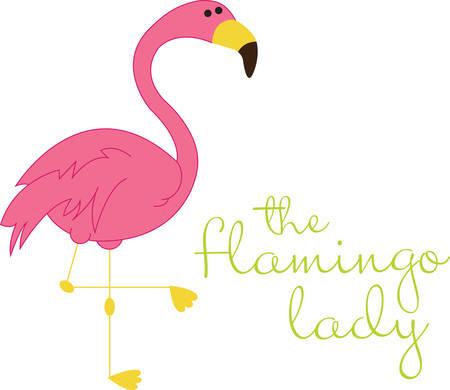 Beste Fabelhafter Flamingo-Freunde für immer Standard-Bild - 41240528