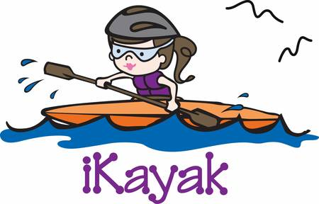 Pick these rafting girl designs from concord collections  Çizim