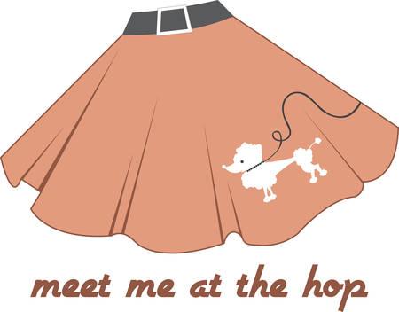 femininity: If you wear short skirts you get your femininity back. Illustration
