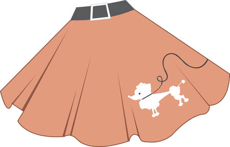 If you wear short skirts you get your femininity back. Vettoriali