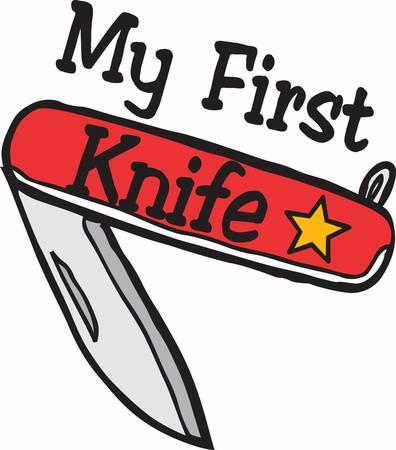 pocket knife: Swiss knife is a very famous tool which has multiple utilities  Illustration