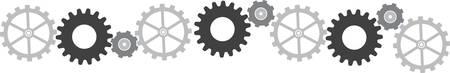 """""""구동 장치의 속도와 구동 장치의 속도 사이의 관계를 변경하기 위해 다른 장치와 작동하는 톱니 바퀴."""""""