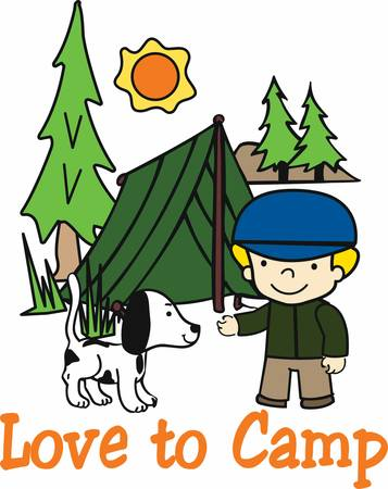 concord: Pick these camping boy designs from concord collections