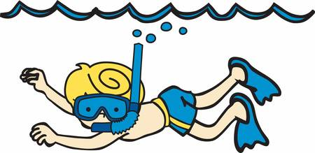 Pick these cool snorkel designs from concord collections Illustration