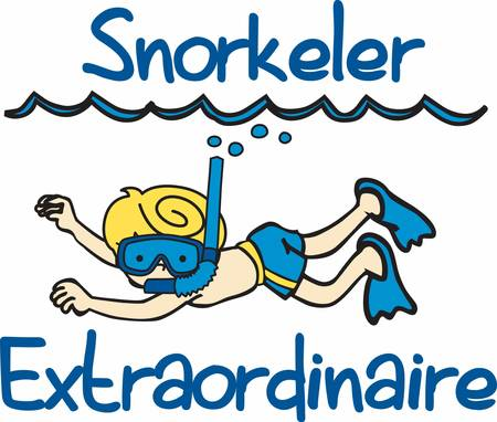 flipper: Pick these cool snorkel designs from concord collections Illustration