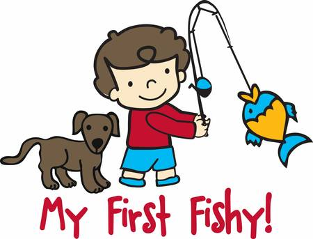 concord: Catch these boy fish catching designs from concord collections
