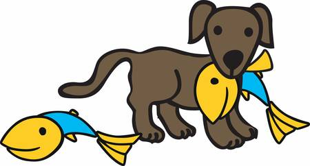 mutt: Dogs help us catch our fish pick these designs from concord collections