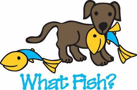Dogs help us catch our fish pick these designs from concord collections