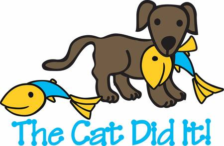 """mutt: """"I cani aiutano a prendere il nostro pesce raccogliere questi disegni provenienti da collezioni concordia"""""""