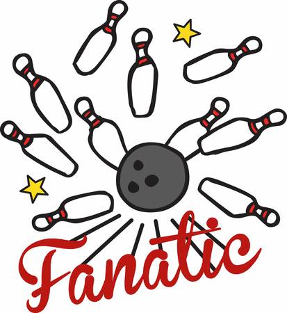 fanatic: Bowling is an unique ball game pick these designs from concord collections