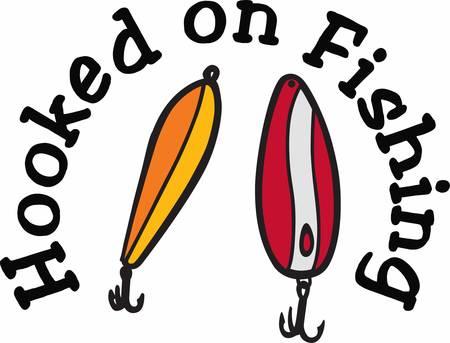 콩코드 콜렉션에서 다채로운 물고기 후크 디자인을 고르십시오. 일러스트