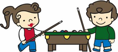 pool player: Billiards is an unique ball game with lots of excitements