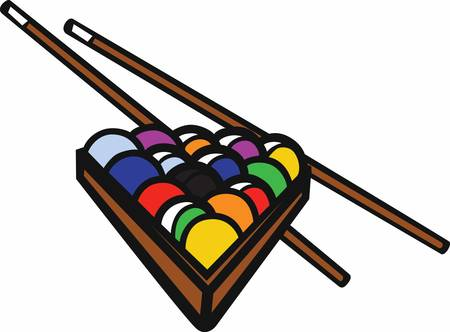 pool stick: Pool stick helps us complete our shot with ease pick these designs from concord collections Illustration