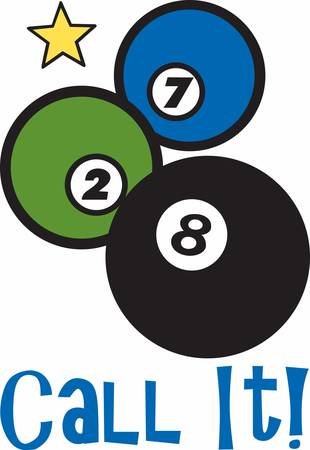 Pool balls are the stars of the game Billiards grab these designs from concord collection
