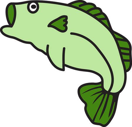 이 얼마나 큰 물고기! 그는 벽에 거치되거나 매달려 야합니다 - 적어도 낚시꾼의 꾸밈에 사용되어야합니다! 스톡 콘텐츠 - 43945273