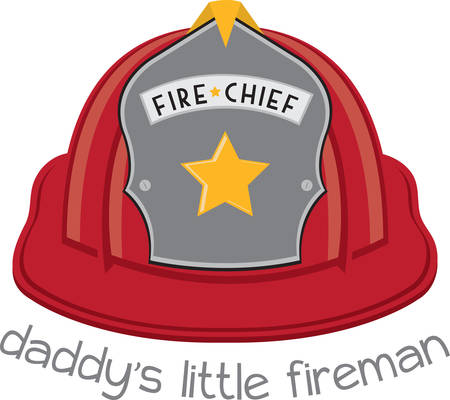 Red fire chief safety helmet makes a special gift for the firefighter who puts their lives on the line to save others.