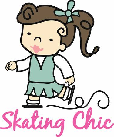 perform: iceskating in which the skaters perform various jumps spins and dance movements pick those designs by concord