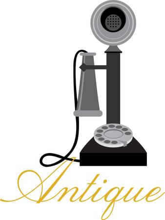 Centralita Vintage Retro Teléfono rotatorio que implementa una tecnología de señalización en las telecomunicaciones conocida como la marcación por pulsos. Escoge las de Concord. Foto de archivo - 41241566