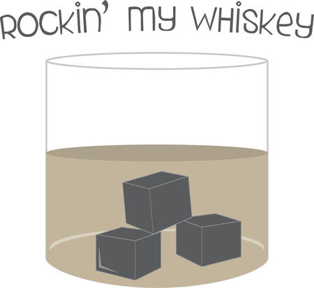 mixed drink: Juicie taste rocks when we add the ice . Pick those design by Concord Illustration