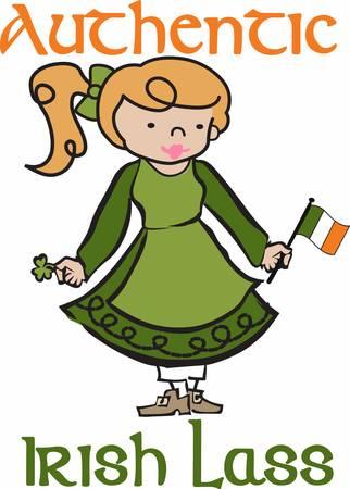 コンコードでアイルランドの小娘の設計の広い範囲を収集します。