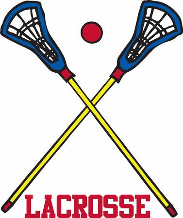 requiring: Lacrosse is a great game requiring lots of practice. This image will make a perfect gift on the equipment bag.