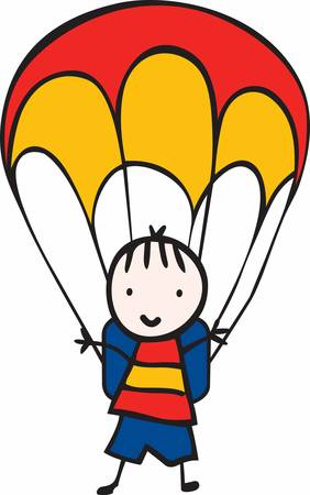 Minds are like parachutes  they only function when open Ilustrace