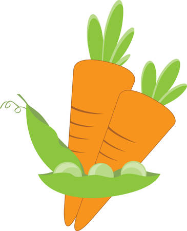 legume: The easiest diet is you know eat vegetables eat fresh food. Illustration