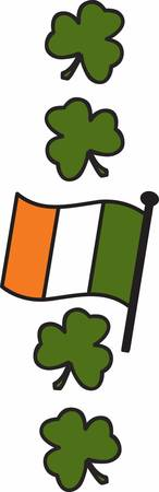 Collect the colourful Ireland Flag designs by Concord