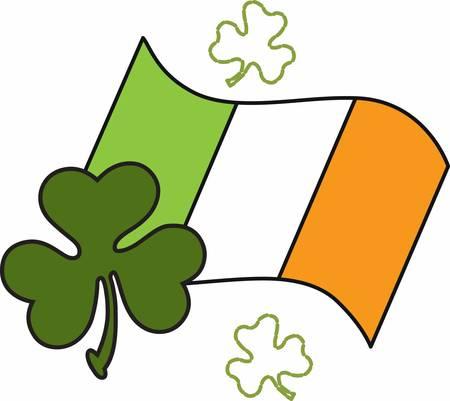 irish banners: Pick the wide range of American Irish Flag Designs by Concord