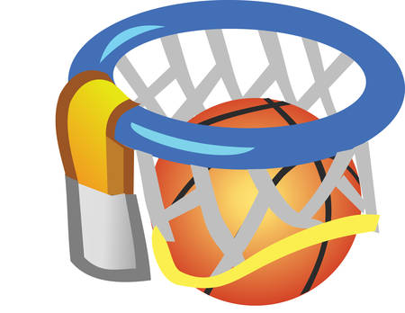 Love Basketball  Then how can you not love this design :
