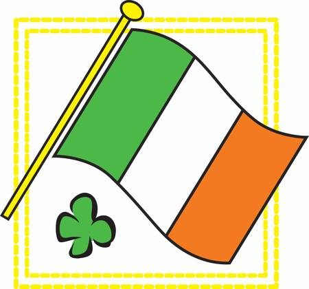 to collect: Collect the colourful Ireland Flag designs by Concord