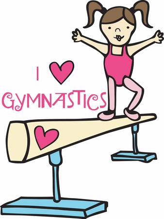 Gymnastics uses every single part of your body every little tiny muscle that you never even knew