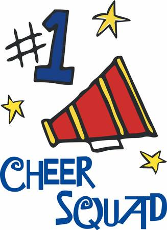 cheer leader: New media is like a megaphone. It amplifies your ability to reach more people