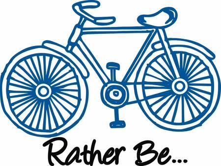 自転車も群衆の動きでしたので、当時の輸送の主要な形態だった自転車です。  イラスト・ベクター素材