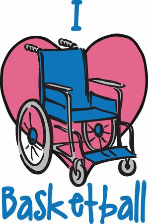 scrubs: This wheelchair design is perfect to add to scrubs.  Show everyone you care