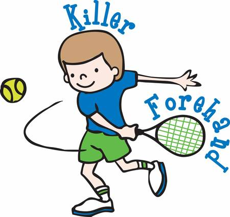 As a tennis player you can win and you can lose and you have to be ready for both. Ilustração