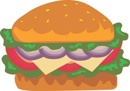 Rock and roll is the hamburger that ate the world. Illustration