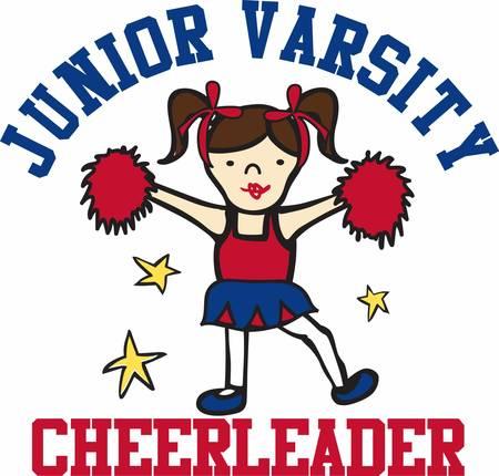 cheer leader: Cheerleaders son los �nicos que saben c�mo volar alto y alcanzar sus objetivos al mismo tiempo.